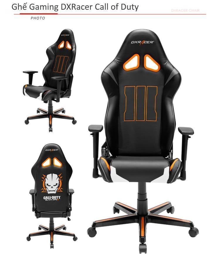 Ghế gaming DXRacer Call of Duty